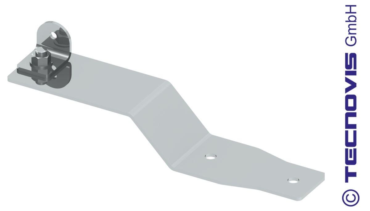 Dachhaken für V-Abspannung (zwei Stück)