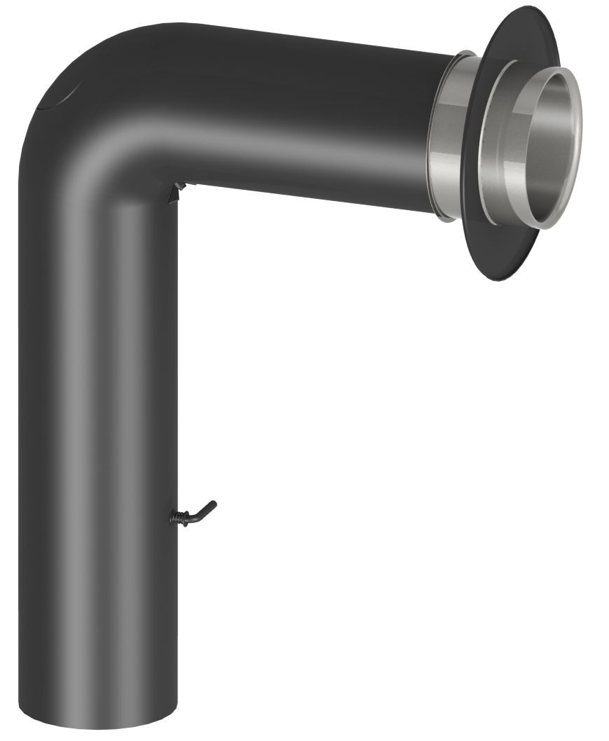 Ofenrohr Set (70/50 cm)