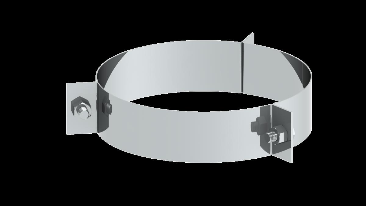 3 Punkt Seilabspannschelle (ohne Seile)
