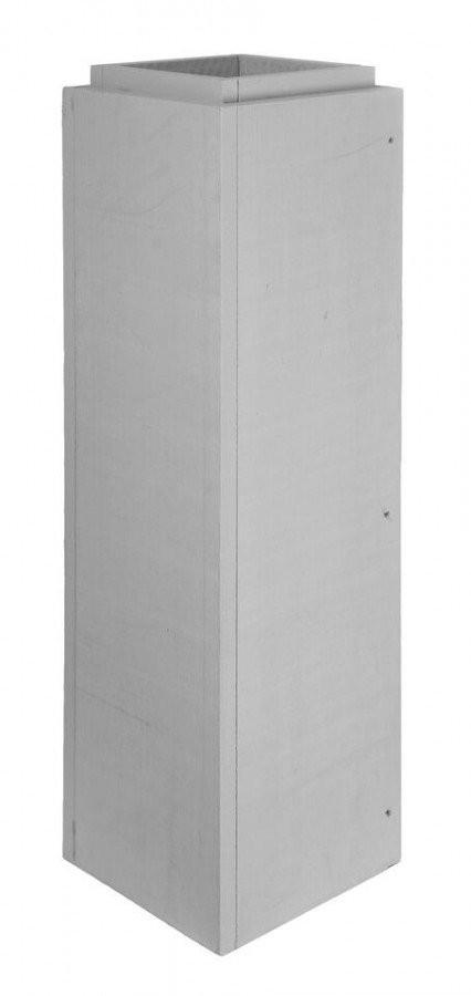 Schachtelement 1000 mm verschraubt - Leichtbauschornstein