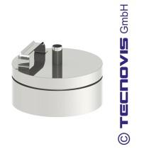 Russtopf/Verschlussdeckel + Kondensatablauf 200 mm