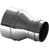 Erweiterung Edelstahl 200 auf 250 mm