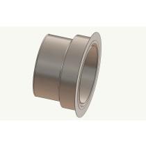 Wandfutter - Adapter 180 auf Ofenrohr 130 mm