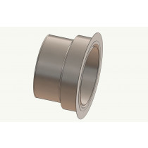 Wandfutter - Adapter 200 auf Ofenrohr 150 mm